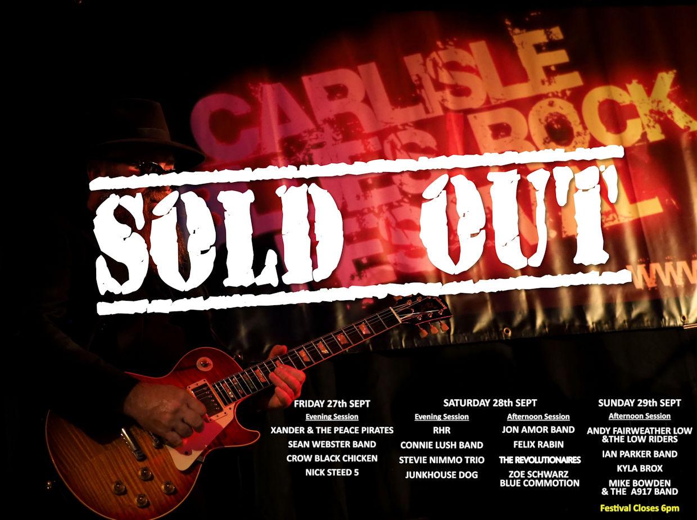 Carlisle Blues Rock Festival 2019